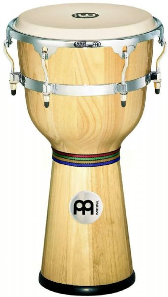 Meinl Percussion 12 inch Floatune Series Wood Djembe - Natural - DJW3NT